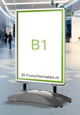 B1 formaat afmeting