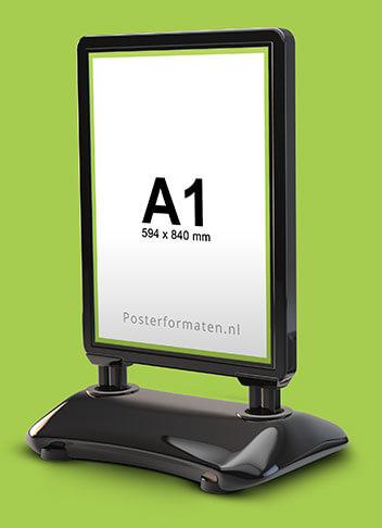 A1 formaat stoepborden