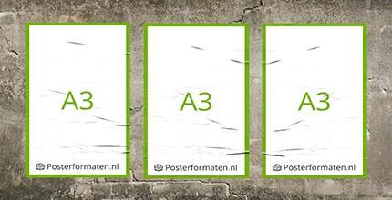 a3 formaat papier afmeting